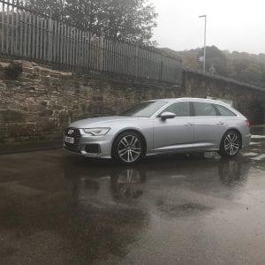 Silver Audi ASICs 4 L 4 L TDI S line Estate Lease