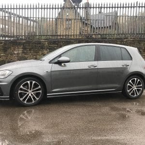 Grey VW Golf Airline for Lease