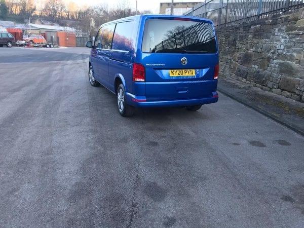 Blue Transporter T6 For Lease back